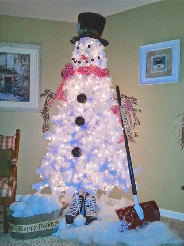 the snowman tree