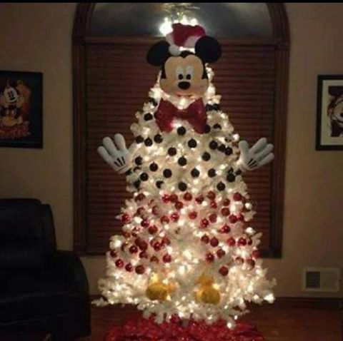 the mickey mouse tree - Homemade Mickey Mouse Christmas Decorations