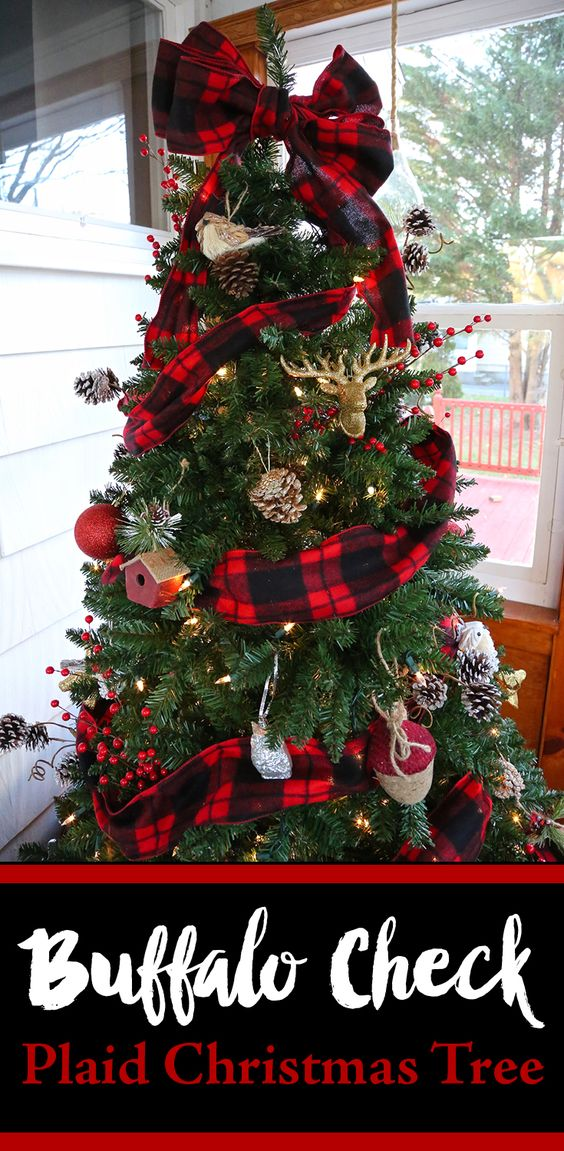 im woodsy rustic warm and cozy if you are looking for that welcoming theme this year then youll love this tree - Woodsy Christmas Tree Decorations