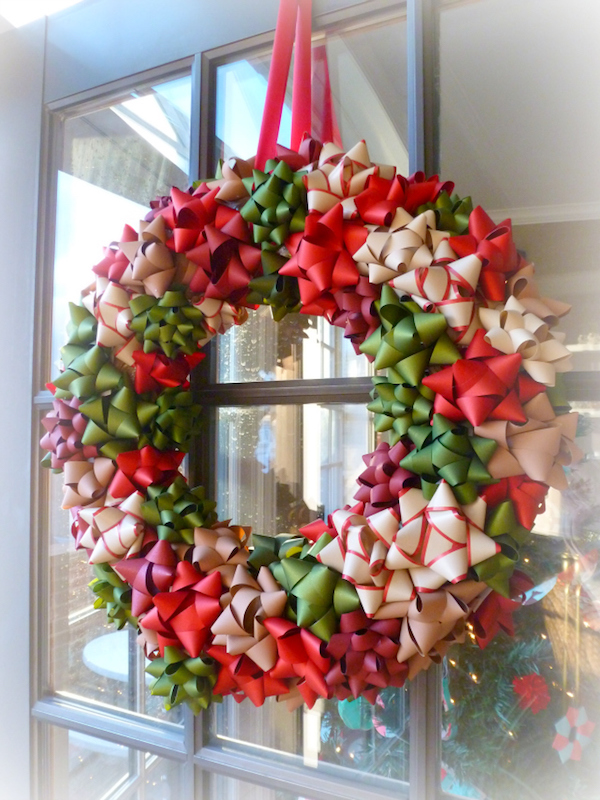 Are You Working On A Decorating Budget Me And Both Which Is Why I Love This Wreath It Made Out Of Premade Paper Bows
