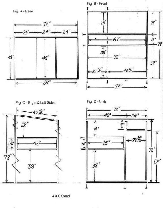 20 free diy deer stand plans and ideas perfect for hunting for Box blind blueprints