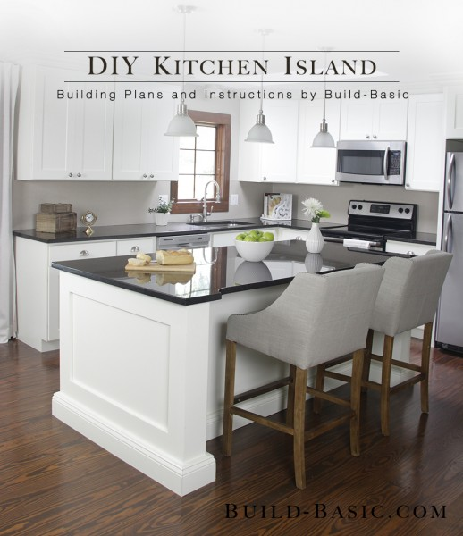 This Kitchen Island Looks Anything But Basic Yet They Include Really Detailed Plans That Will Make Build Much Easier To Accomplish