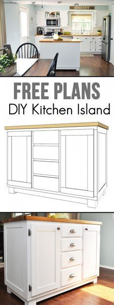 25 gorgeous diy kitchen islands to make your kitchen run smoothly