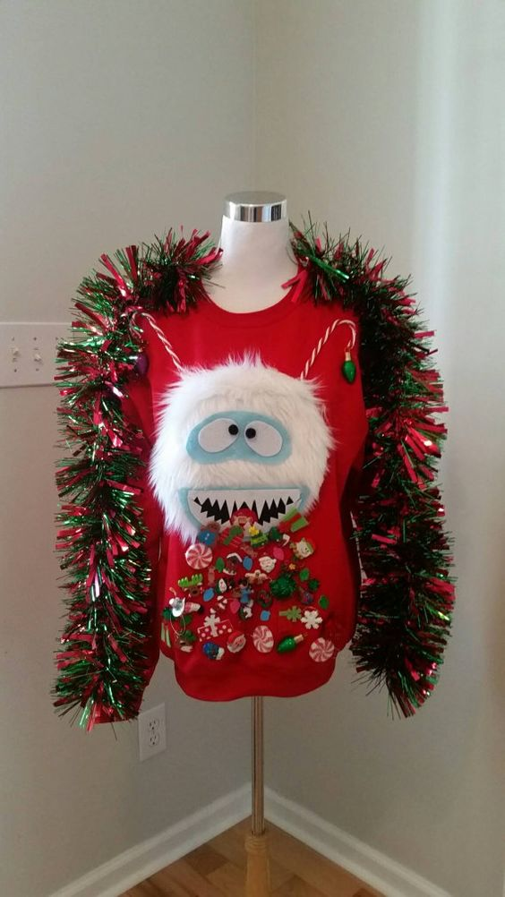 ugly christmas sweater craft ideas 51 sweater ideas so you can be gaudy and 7270