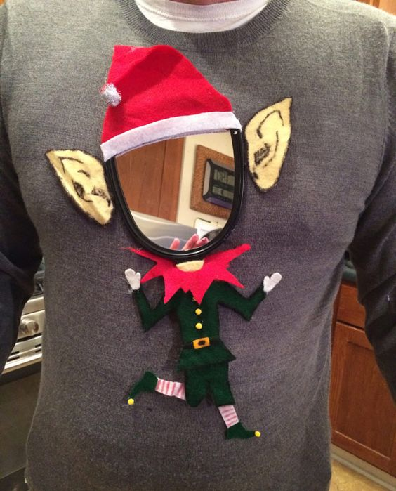 Ugly christmas jumpers - mirror