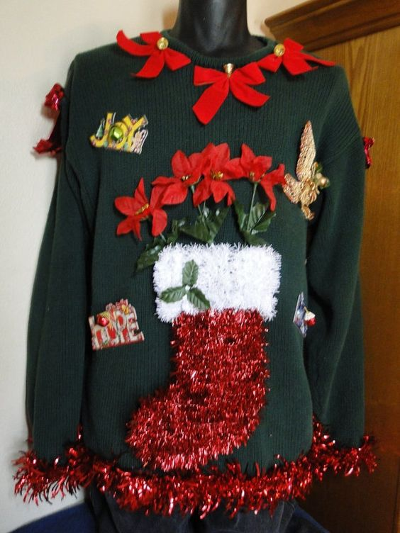 Cheap and Ugly Homemade Christmas Sweater - 51 Ugly Christmas Sweater Ideas So You Can Be Gaudy And Festive