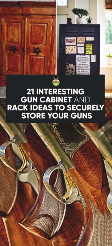 Gun Cabinet And Gun Rack Plans: