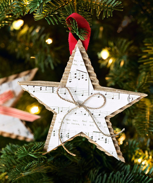 39 diy christmas ornaments to deck your halls with this festive season musical christmas star solutioingenieria Gallery