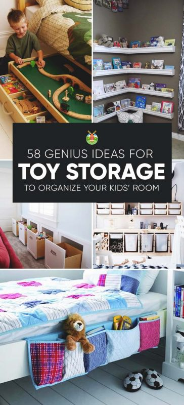 48 Genius Toy Storage Ideas Organization Hacks For Your Kids' Room Stunning Organizing A Living Room Creative