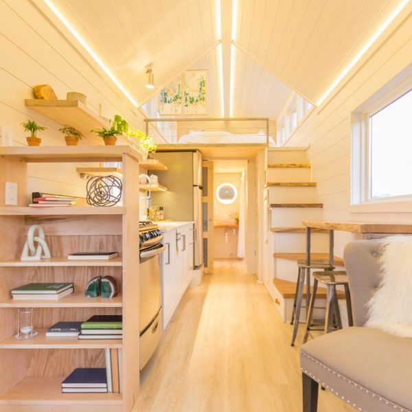 Olive Nest Tiny Home Came Up With The Elsa Design And The Loft In This  Place Is Just The Beginning. You Could Put Two Beds On The Floor Just Like  They Did ...
