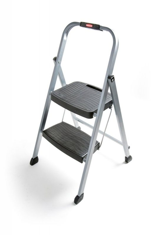 Rubbermaid RM-2W Folding 2-Stepladder:Stool