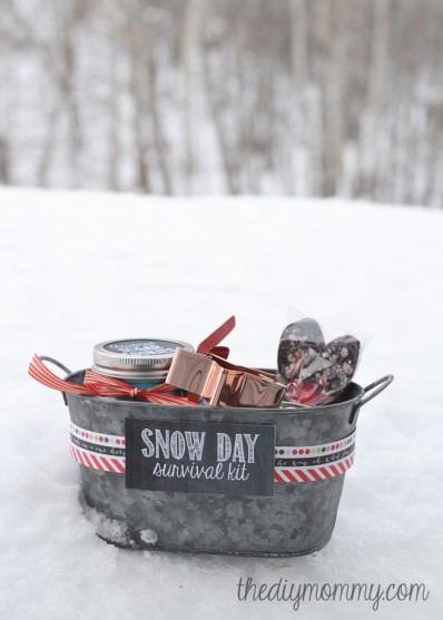 23 fantastic gift basket ideas to make any recipient smile fantastic gift basket ideas 1 for a snowy day solutioingenieria Images