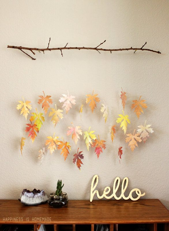 19 Inspiring Fall Leaf Crafts Perfect for Bringing the ...