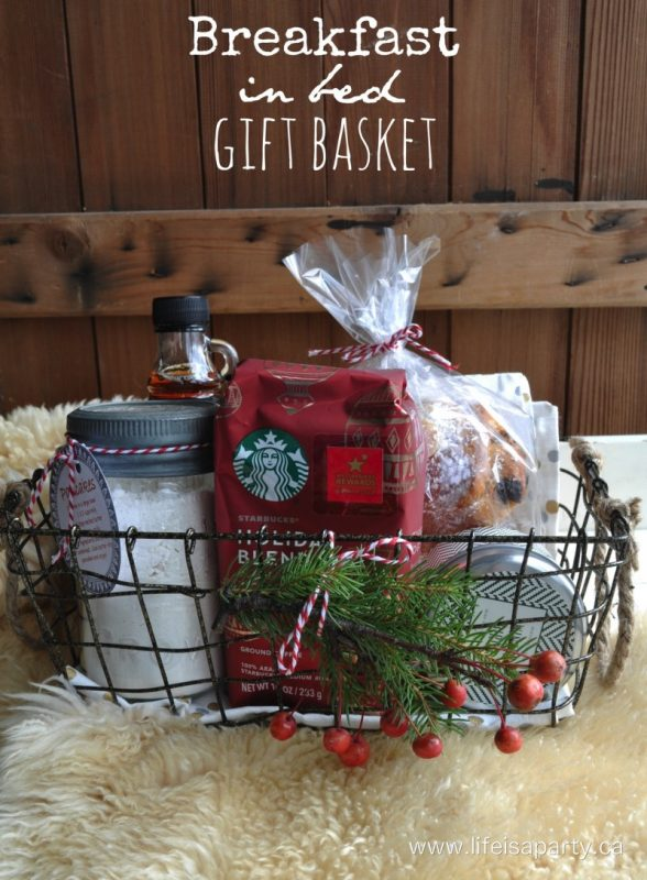 I Think This Breakfast In Bed Gift Basket Would Be A Perfect Gift To Give To Couples And An Easy Go To If You Dont Know Them Too Well
