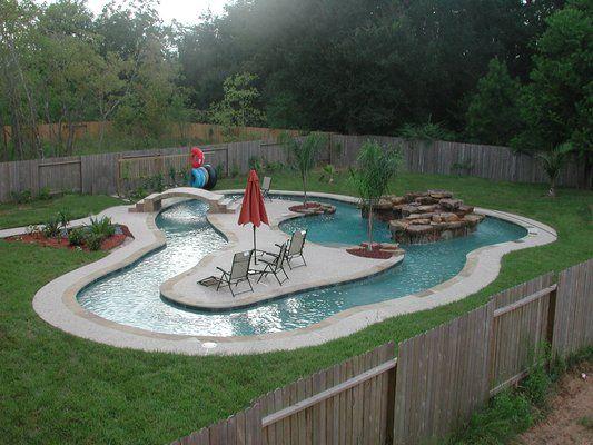48 Super Fun Backyard Activities You And Your Family Will Enjoy Custom Backyard Lazy River Creative