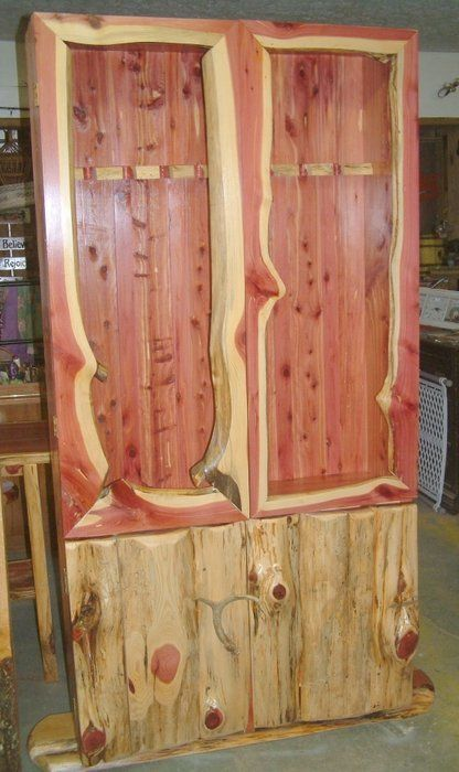21 interesting gun cabinet and rack plans to securely store your guns the cedar gun cabinet teraionfo