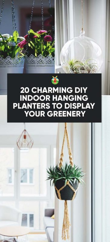 of course there are hundreds of beautiful hanging planters available in stores but there really is always something special about making one yourself - Diy Hanging Planter