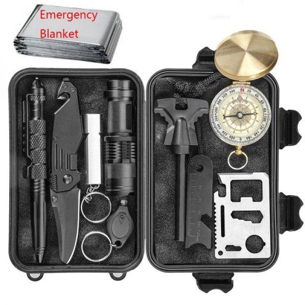 CHANGKU Emergency 11-in-1 Survival Kit