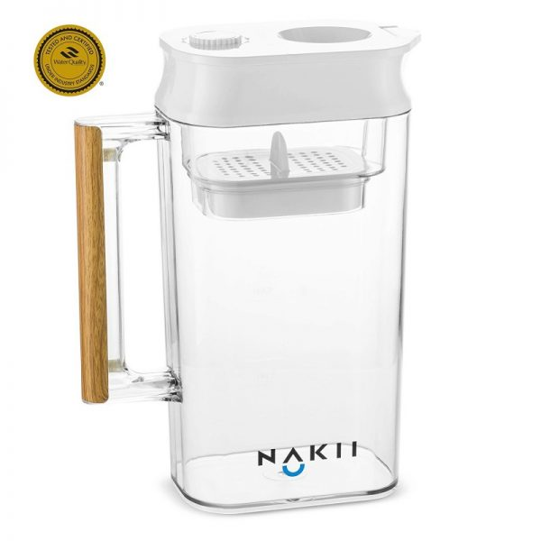 Nakii Long-lasting Water Filter Pitcher