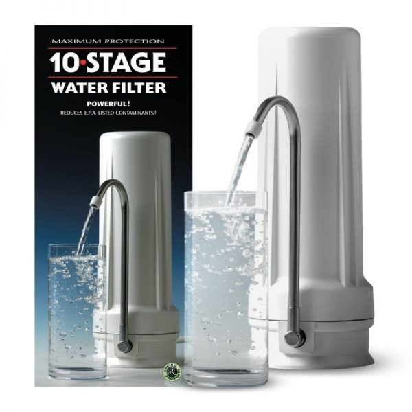 New Wave Enviro 10 Stage Countertop Water Filter System