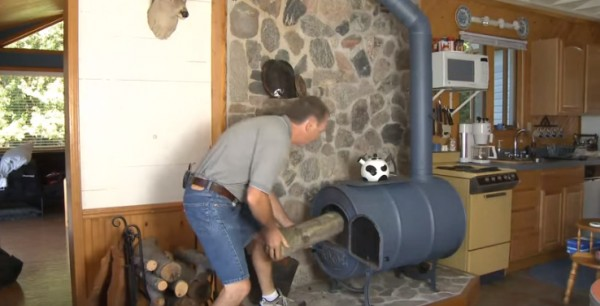 How To Build A Barrel Wood Stove Inexpensively In Only 9