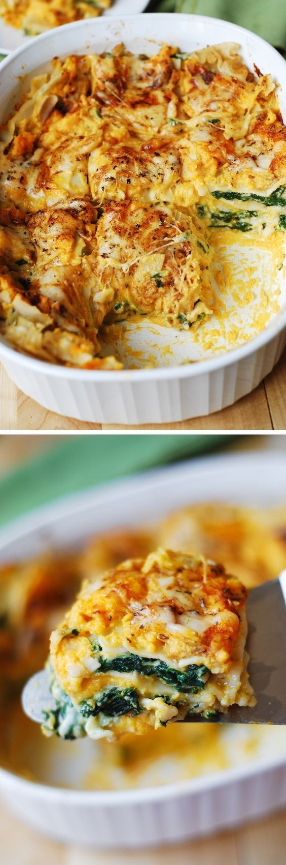 28 healthy winter recipes to start your new years off right 26 butternut squash and spinach lasagna forumfinder Choice Image