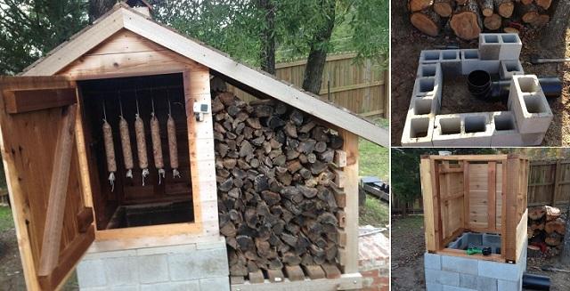 23 awesome diy smokehouse plans you can build in the backyard for How much can you save building your own house