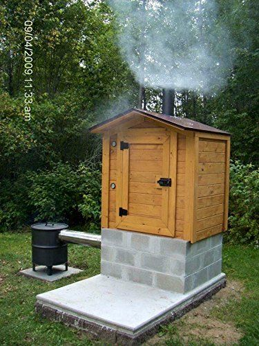 86 smokehouse plans - Meat Smokehouse Plans