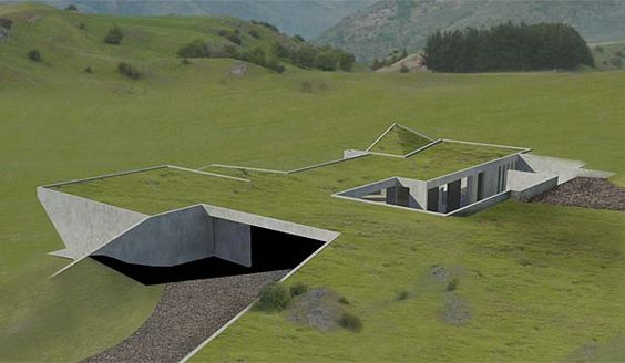 I Really Like This House Design It Is Meant To Be Built Into The Ground Or A Hill So That Very Difficult Seen