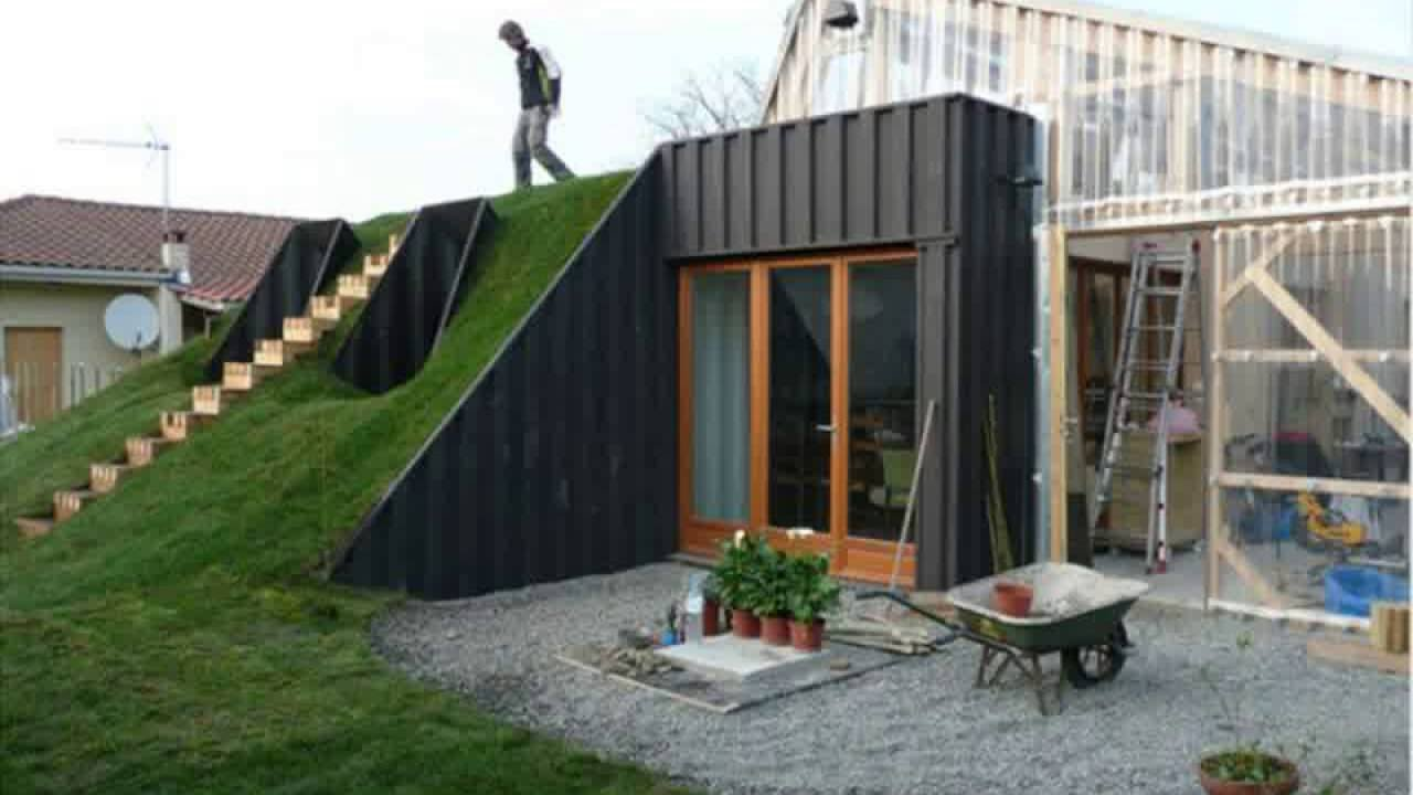 Underground Shipping Container Homes 23 Unique and