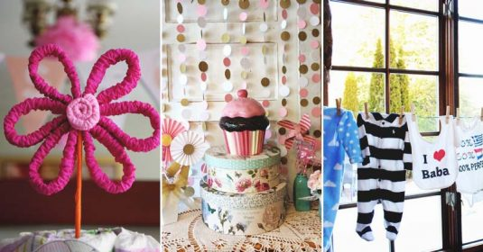21 DIY Baby Shower Decorations To Surprise and Spoil Any New Mom-to-Be