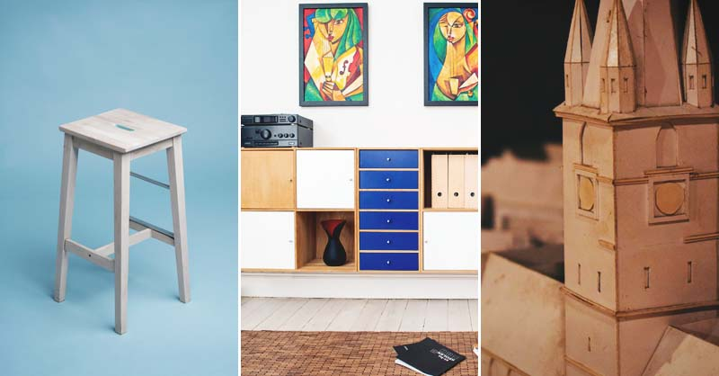 26 diy cardboard furniture ideas that are surprisingly practical solutioingenieria Gallery