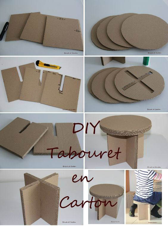 diy cardboard furniture. The Cardboard Table Diy Furniture