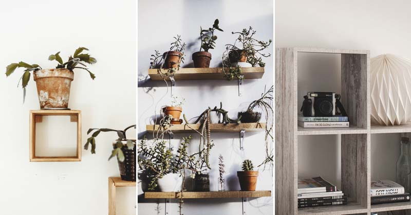 34 diy shelving ideas that are as pretty as they are practical - Wall Sized Bookshelves