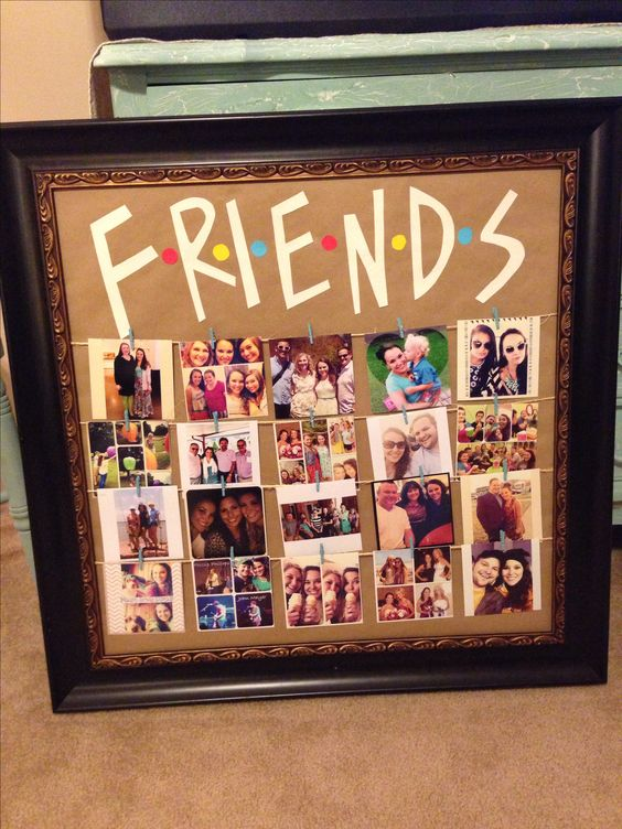 Diy Friend Gift Ideas 1 Friends Picture Collage