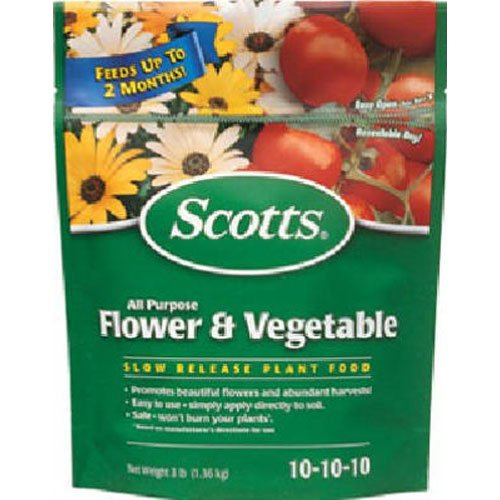 Scotts All Purpose Flower and Vegetable Continuous Release 3-pound Plant Food