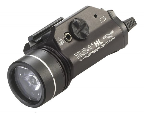 Streamlight 69260 TLR-1 HL 800 lumens Weapon Mount Tactical Flashlight