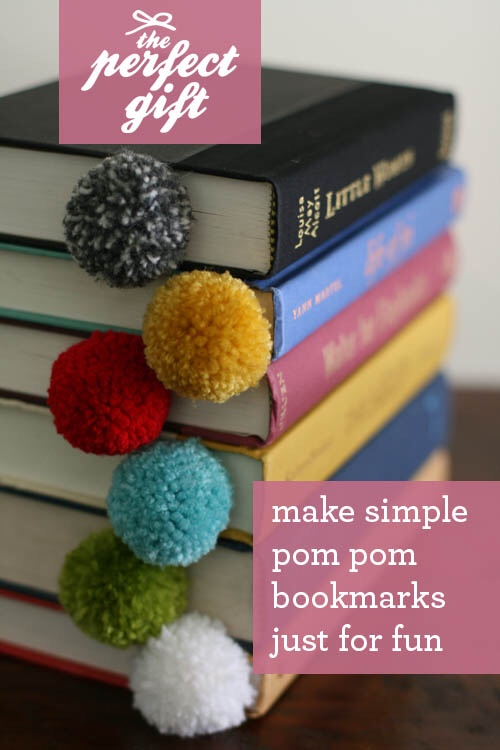 Pom Bookmarks Are Cute And A Great Idea For Friend Who Loves To Read As Matter Of Fact I Plan Make These Enjoys Reading