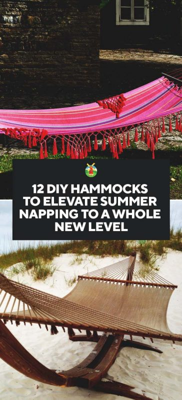 12 Diy Hammock Ideas To Elevate Your Napping To A Whole New Level