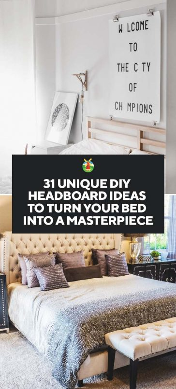 31 Unique Diy Headboard Ideas To Turn Your Bed Into A Masterpiece
