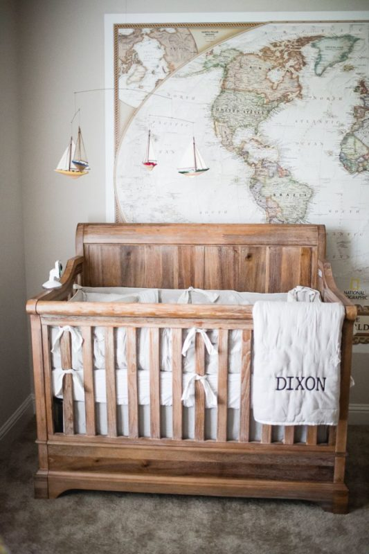 I M Loving This Vintage Travel Themed Room The Old Map Will Bring Light To Many Places Your Baby Can One Day See