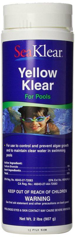 SeaKlear Yellow Klear Algae Control Algaecide