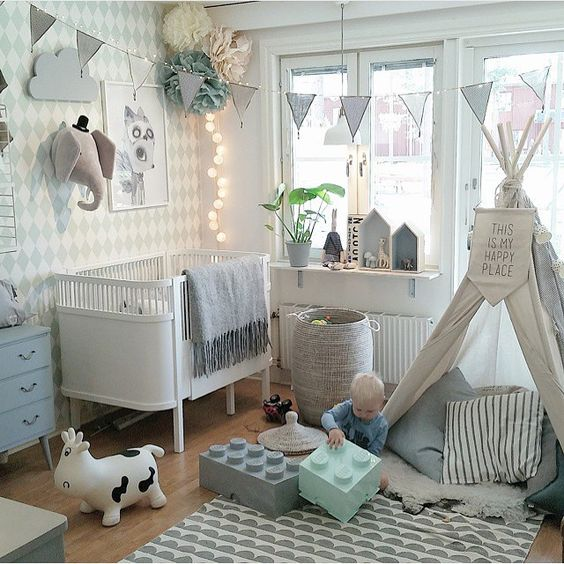 This Nursery Is Filled With Toys To Play Art Wonder At And A Warm Dreamy Vibe