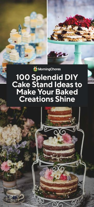 100 Splendid Diy Cake Stand Ideas To Make Your Baked Creations
