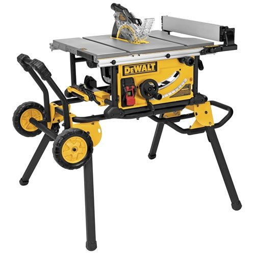 DEWALT DWE7491RS 10-Inch Jobsite Table Saw And Rolling Stand