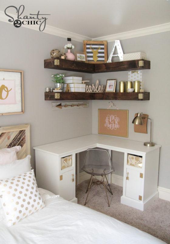 40 Grand Floating Corner Shelf Designs For New Renovation Inspiration Interesting How To Hang Corner Shelves