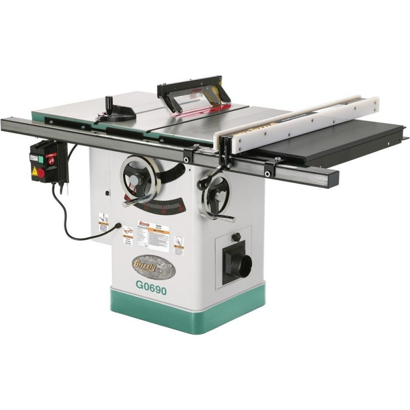Grizzly G0690 10-Inch Cabinet Table Saw