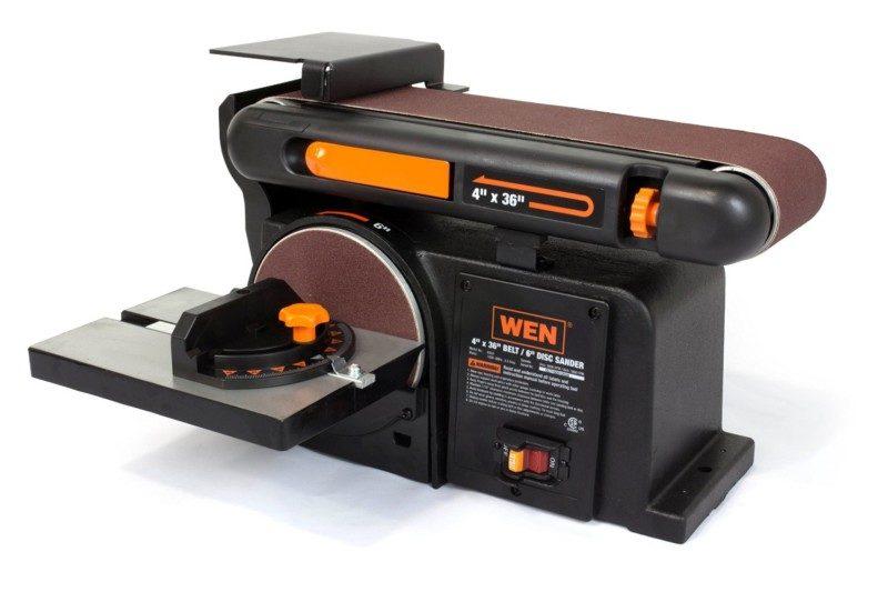 WEN 6502 4 x 36-Inch Belt and 6-Inch Disc Sander