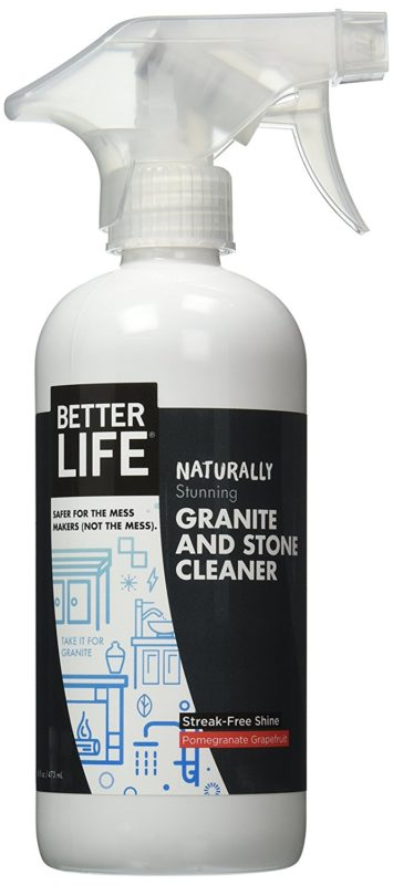Better Life 24117 16-ounce Natural Granite and Stone Cleaner Spray