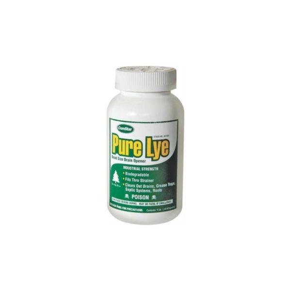 Comstar 30-500 1lb Pure Lye Drain Opener